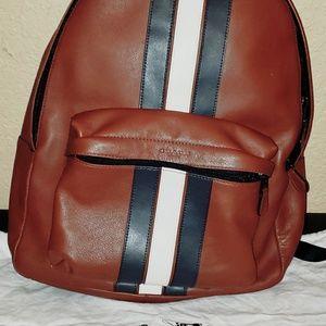 Coach Houston Backpack  w/ Stripe